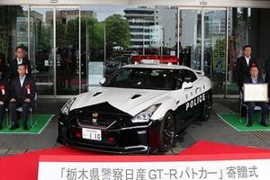 Cảnh sát Nhật Bản được cấp ''hàng nóng'' Nissan GT-R 2017 để truy đuổi tội phạm