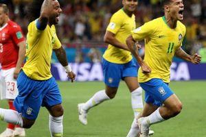 Coutinho lập siêu phẩm, Brazil vẫn bị Thụy Sĩ 'cưa điểm'
