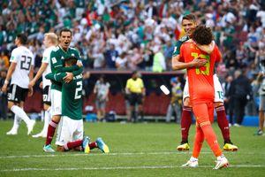 Đòn phản công sắc bén giúp Mexico quật ngã nhà ĐKVĐ Đức
