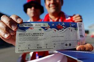 Lý do một số khách Trung Quốc bị từ chối vào sân xem World Cup
