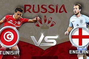 Xem bóng đá World Cup 2018 trực tiếp Tunisia vs Anh hôm nay