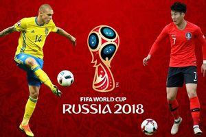 Thụy Điển - Hàn Quốc: Cuộc chiến giữa tiền vệ Tottenham và trung vệ Man Utd