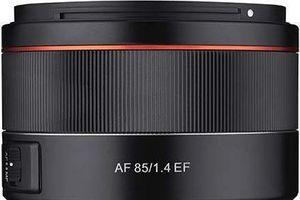 Samyang giới thiệu ống kính AF 85mm f1.4 cho máy ảnh Canon
