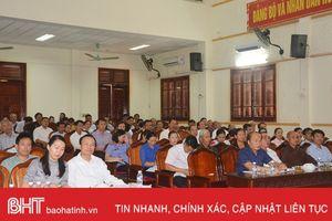 Cần có chính sách đặc thù đối với lĩnh vực chỉnh trang đô thị tại Hồng Lĩnh