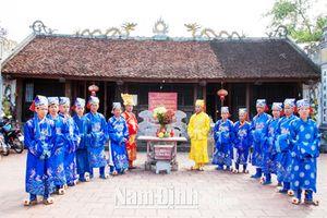 Nam Định: Các di tích thờ công chúa nhà Trần