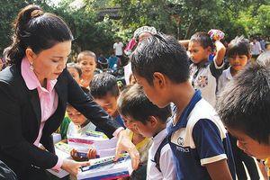 Dấu ấn thiện nguyện của Kim Oanh Real