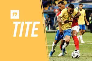 Hòa thất vọng Thụy Sĩ, HLV Brazil đổ lỗi cho trọng tài