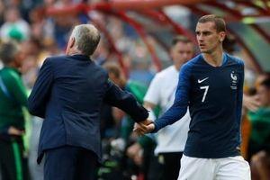 Griezmann có nguy cơ mất suất đá chính trên tuyển Pháp