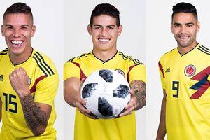 Đội hình dự kiến của Colombia trước Nhật Bản: James 'dọn cỗ' cho Falcao?