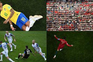 12 bức ảnh ấn tượng nhất tại World Cup 2018