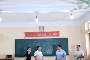 Thi THPT Quốc gia 2018: Không để quạt trần rơi vào đầu học sinh