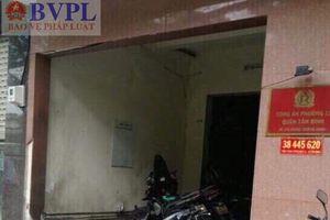 Vụ nổ tại trụ sở Công an phường, một nữ công an bị thương