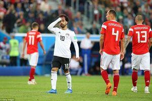 Hạ Ai Cập 3-1, Nga đặt một chân vào vòng sau, Ai Cập có nguy cơ phải ra về, Salah ôm mặt tiếc nuối