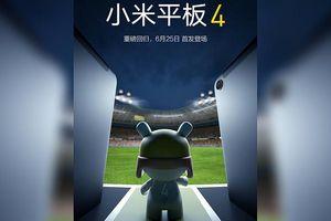 Xiaomi xác nhận ngày ra mắt Mi Pad 4