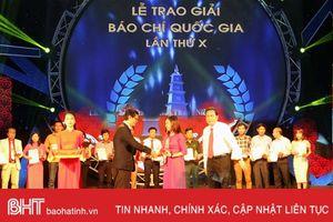 Báo Hà Tĩnh đoạt giải C Báo chí quốc gia với loạt bài phát triển chi bộ vùng giáo