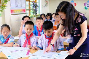 Học sinh trường 'ven đô' đạt thủ khoa vào Trường THCS Đặng Thai Mai (TP. Vinh)