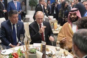 Tổng thống Putin ghi điểm ngoại giao với mùa World Cup năm nay