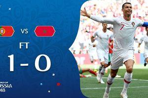 Kết quả World Cup 2018 ngày 20/6: Ronaldo ghi bàn lập kỷ lục, Morocco xách vali về nước