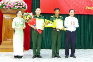 BĐBP Quảng Trị đoạt giải cao tại Hội thi giảng dạy lý luận chính trị giỏi cấp tỉnh