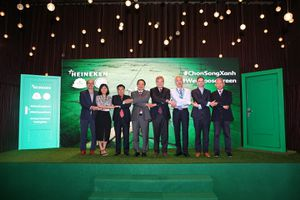 Heineken Việt Nam chọn sống xanh để phát triển bền vững