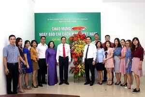 Lời cảm ơn của Tạp chí Mặt trận nhân ngày Báo chí Cách mạng Việt Nam