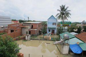 Nghiêm trị hành vi xây nhà lấp mương khiến cả xóm bị ngập