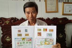 Lão nông dùng tem thư chứng minh 'Hoàng Sa-Trường Sa là của Việt Nam'