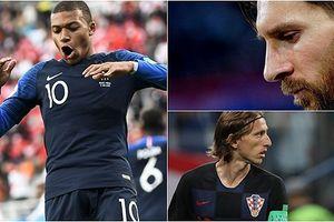 Đội hình tiêu biểu lượt trận ngày 21/6: Mbappe 'che mờ' Messi