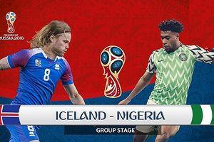 TRỰC TIẾP Nigeria - Iceland: Quyết chiến vì hy vọng
