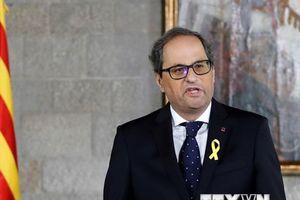 Lãnh đạo vùng Catalonia 'tuyên chiến' với Hoàng gia Tây Ban Nha