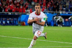 Thụy Sĩ buộc Serbia phải quyết đấu với Brazil