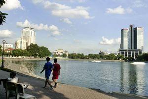Hồ Thành Công - lá phổi xanh của Thủ đô