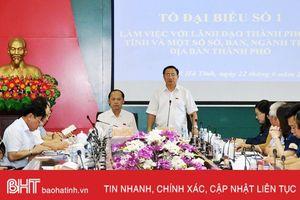 Đề xuất xây công viên trên nền khu tập thể cũ BVĐK Hà Tĩnh