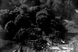 Vụ nổ tàu chết chóc nhất nước Mỹ, thổi cả sà lan và máy bay