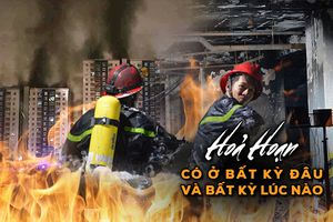 Chuyện về chiến sĩ PCCC: Những người anh hùng đi ngược vào lửa dữ để giành giật sự sống