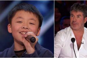 Cậu bé đi thi Tìm kiếm tài năng Mỹ để kiếm tiền mua chó, giám khảo tặng luôn một con vì hát quá hay