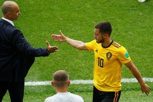 HLV tuyển Bỉ tuyên bố không dùng đội hình mạnh nhất để đấu tuyển Anh
