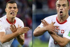 FIFA điều tra màn ăn mừng có tính 'chính trị' của 2 cầu thủ Thụy Sĩ