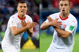 FIFA vào cuộc điều tra vụ ăn mừng bàn thắng của Xhaka, Shaqiri