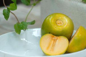 Bất ngờ với những lợi ích cho sức khỏe của quả hồng giòn