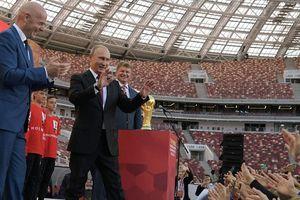 Tổng thống Putin ghi bàn thắng ngoại giao nhờ World Cup 2018