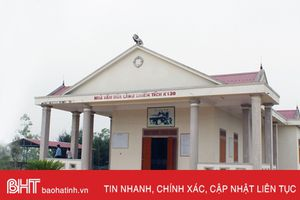 Hà Tĩnh đề nghị Bộ VHTT-DL đầu tư Di tích lịch sử Làng K130