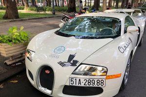Bugatti Veyron và dàn siêu xe khởi động hành trình của 'ông trùm cà phê' Đặng Lê Nguyên Vũ