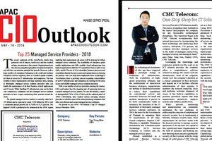 CMC Telecom được bình chọn Top 25 Nhà cung cấp dịch vụ hàng đầu châu Á – Thái Bình Dương