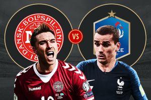 Dự đoán kết quả trận Đan Mạch vs Pháp, World Cup 2018