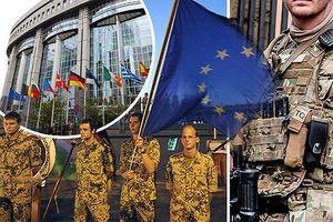 EU chính thức thành lập Lực lượng can thiệp quân sự châu Âu