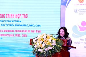 Hơn 2,4 triệu USD hỗ trợ phòng, chống đuối nước ở Việt Nam