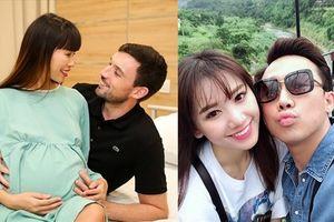 Nóng nhất showbiz: Cường Đô La khoe ảnh cưới, Hà Anh sinh con đầu lòng