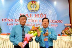 Ông Trần Thanh Việt tái đắc cử Chủ tịch LĐLĐ Kiên Giang