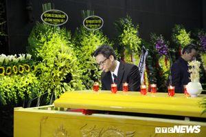 Lãnh đạo, nguyên lãnh đạo Đảng, Nhà nước xúc động tiễn biệt GS Phan Huy Lê